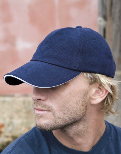 Memphis Low Profile Sandwich Peak Cap (RC091X)