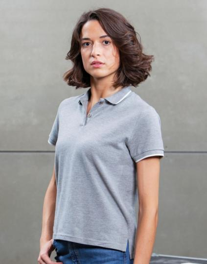 The Women's Tipped Polo - M192